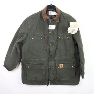 Vtg New Carhartt Mens XL Blanket Lined Jacket